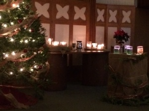 From the 2015 Candlelight Service at First Hamilton Christian Reformed Church.